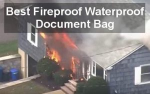 best fireproof waterproof document bag